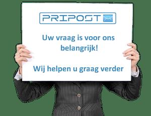PriPost helpt u graag verder