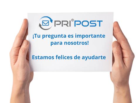 PriPost se complace en ayudarlo