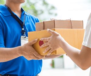 Pakketten ontvangen